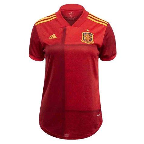 2020-2021 Spain Home Adidas Womens Shirt