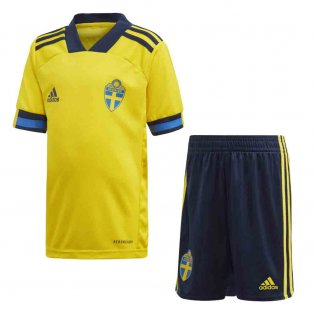 2020-2021 Sweden Home Adidas Mini Kit