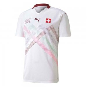 2020-2021 Switzerland Away Puma Football Shirt (Kids)