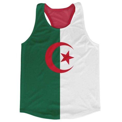 Algeria Flag Running Vest