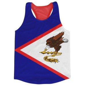 American Samoa Flag Running Vest