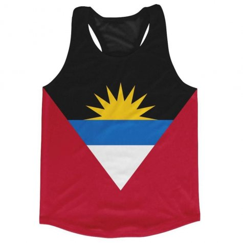 Antigua And Barbados Flag Running Vest
