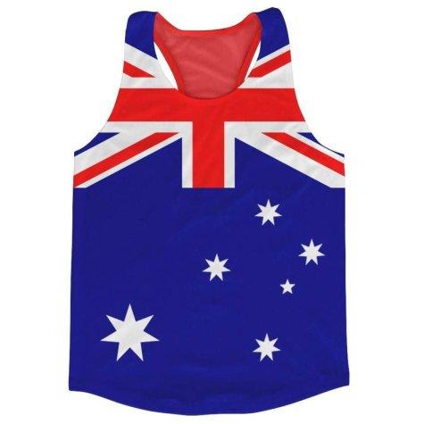 Australia Flag Running Vest