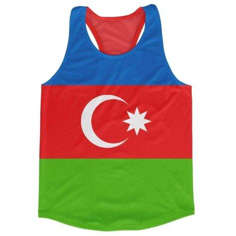 Azerbaijan Flag Running Vest
