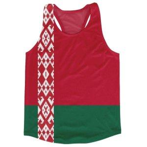Belarus Flag Running Vest