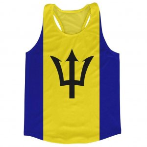 Barbados Flag Running Vest