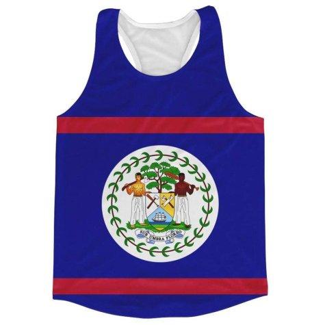 Belize Flag Running Vest