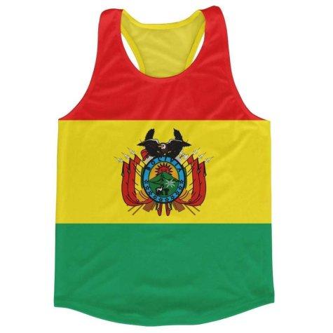 Bolivia Flag Running Vest