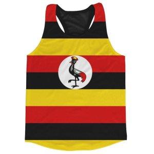 Uganda Flag Running Vest