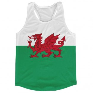 Wales Flag Running Vest