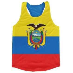 Ecuador Flag Running Vest