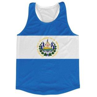 El Salvador Flag Running Vest