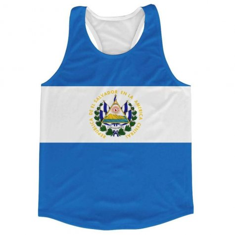 El Salvador Flag Running Vest