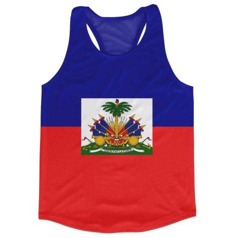 Haiti Flag Running Vest