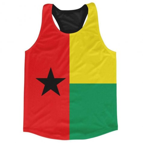 Guinea Bissau Flag Running Vest