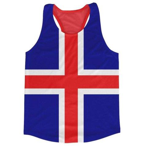 Iceland Flag Running Vest