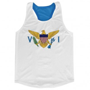 U.S. Virgin Islands Flag Running Vest