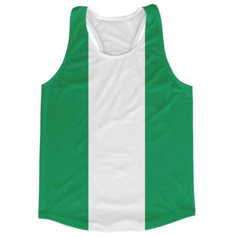 Nigeria Flag Running Vest