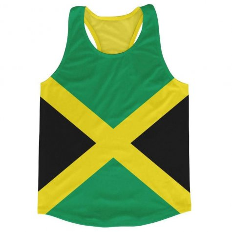 Jamaica Flag Running Vest