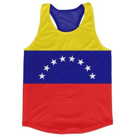 Venezuela Flag Running Vest