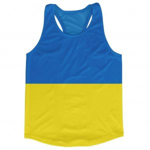 Ukraine Flag Running Vest