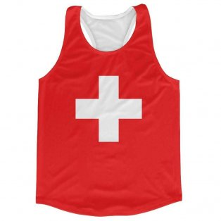 Switzerland Flag Running Vest