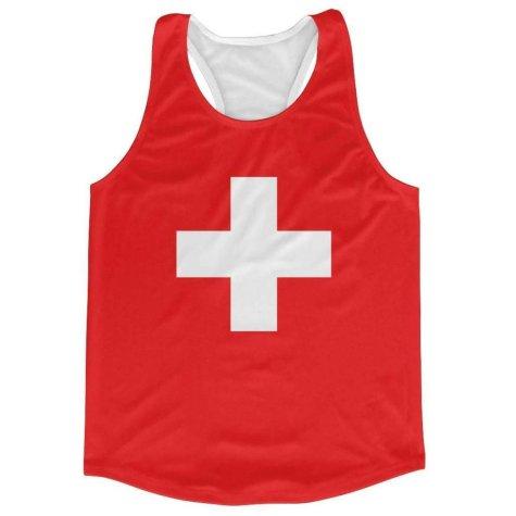 Switzerland Flag Running Vest