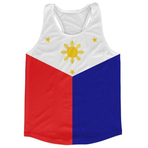 Phillippines Flag Running Vest