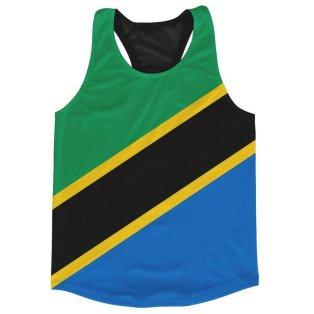Tanzania Flag Running Vest