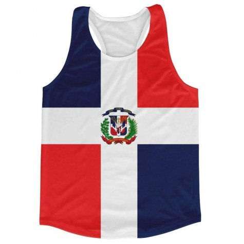 Dominican Republic Flag Running Vest