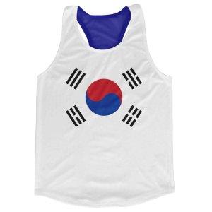 South Korea Flag Running Vest