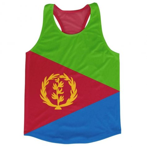 Eritrea Flag Running Vest