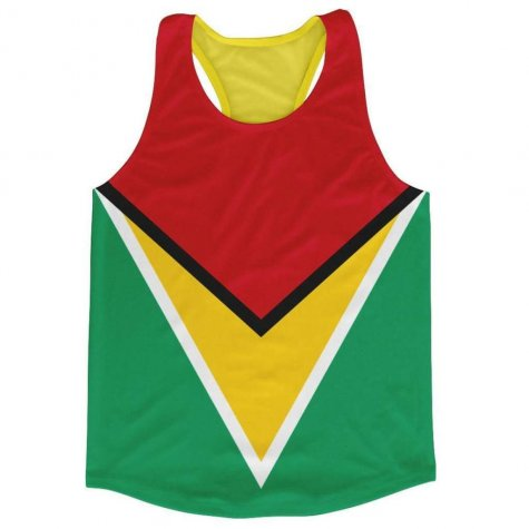Guyana Flag Running Vest