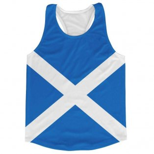 Scotland Flag Running Vest