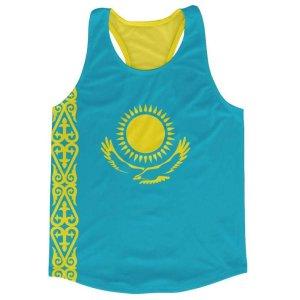 Kazakhstan Flag Running Vest