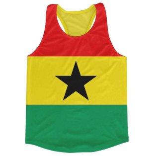Ghana Flag Running Vest