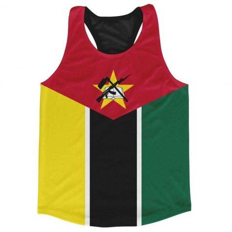 Mozambique Stripe Running Vest