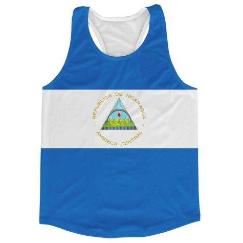 Nicaragua Flag Running Vest