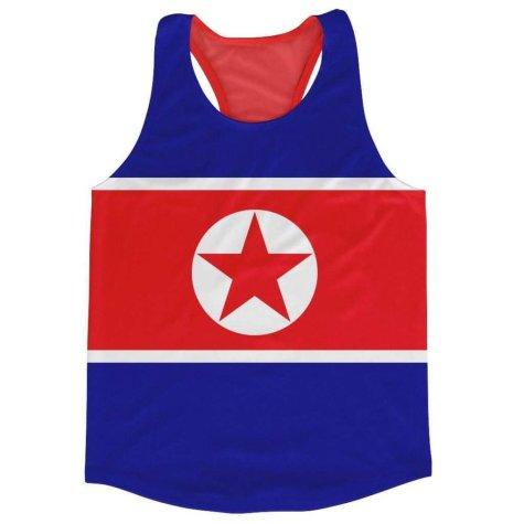 North Korea Flag Running Vest