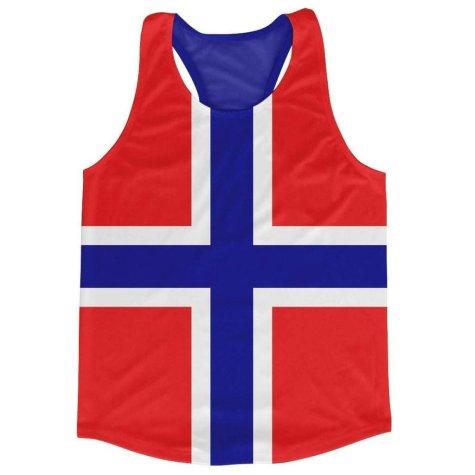 Norway Flag Running Vest