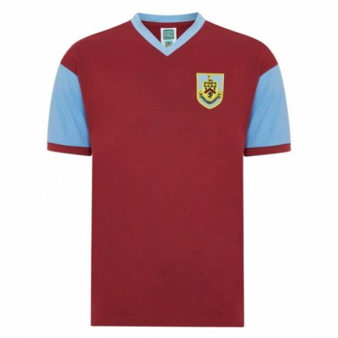 Score Draw Burnley 1960 Retro Football Shirt