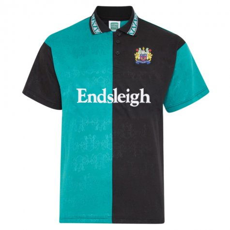 Score Draw Burnley 1984 Third Retro Football Shirt