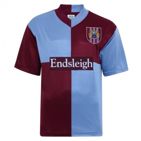 Score Draw Burnley 1998 Retro Football Shirt