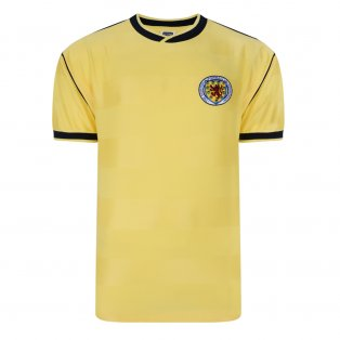Score Draw Scotland 1986 Away Retro Football Shirt