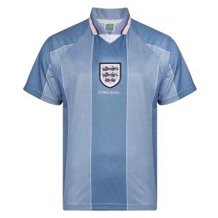 Score Draw England 1996 Away Euro Championship Retro Football Shirt