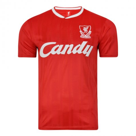 Score Draw Liverpool FC 1989 Retro Football Shirt