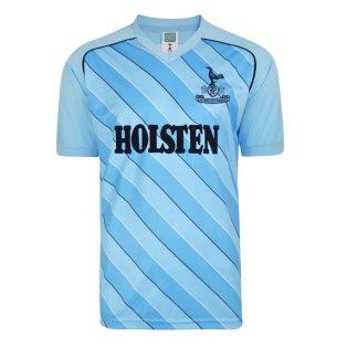 Score Draw Tottenham Hotspur 1986 Away Retro Football Shirt