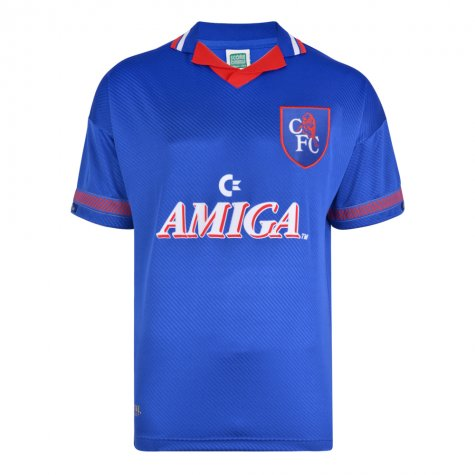 Score Draw Chelsea 1994 Retro Football Shirt