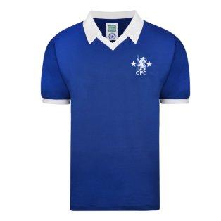 Score Draw Chelsea 1978 Retro Football Shirt