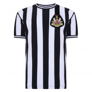 Score Draw Newcastle United 1970 Retro Football Shirt